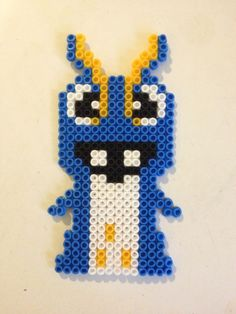 Joules from Slugterra made in Perler Beads Hama Beads, Fuse Beads, Perler Bead Designs, Motifs Perler, Perler Patterns, Image Pixel Art, Pixel Beads, Bead Kits, 8th Birthday