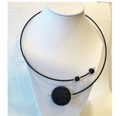 Hey, I found this really awesome Etsy listing at https://www.etsy.com/au/listing/213173795/statement-necklace-with-black-lava-rock