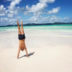 What would you like to do after taking our language program? Sydney student Thierry spent his time travelling Australia, visiting the beautiful Whitsunday islands.  Follow us on Facebook:   Study More Languages Kielimatkat  SML kielimatkat nuorille  SML Education  SML Idiomas   Follow us on Instagram: @studymorelanguages  #kielimatka #kielikurssi   #språkresa #kielimatkat #australia #sydney #englishcourse #study #english  #SMLmatka  #summercamp White Haven Beach, English Course, Great Barrier Reef, Australia Travel, Time Travel, Ocean, Handstand, Languages, Islands