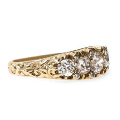 Authentic Victorian Era Diamond Ring | Florence from Trumpet & Horn