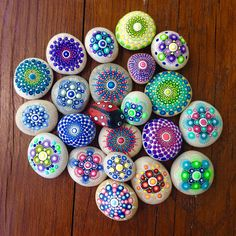 Bunch of little mandalas RESERVED for Sheryl :
