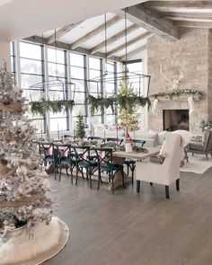 When homeowners invite guests and company into their home typically the first thing that visitors see is the living room, or family room, of the house. Unless there is a foyer before the living roo… Living Room Designs, Living Room Decor, Living Room Chandeliers, Dining Chandelier, Living Area, Home Fashion, Great Rooms, Modern Farmhouse, Farmhouse Style