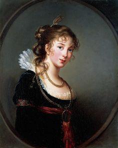 Princess Antoni Henryk Radziwill Artist:Élisabeth Louise Vigée Le Brun (French…