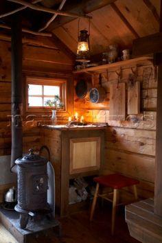 Hunting Cabin Minimal Interior Wood Cabins Hunting
