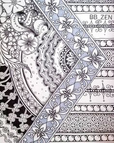 «#zentangle #Zen #zendoodle #zentangleart #partten #artwork#thedoodlenotebook #featuregalaxy #hearttangles #penillustration»