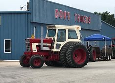 International Tractors, Classic Tractor, Ih, Monster Trucks