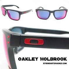 The Oakley Holbrook Sunglasses. Now available at eyeheartshades.com #oakley #oakleys #sunglasses #surf #surfing #hiking #ski #golfing #outdoors #cool #mirrored #mirroredsunglasses #holbrook
