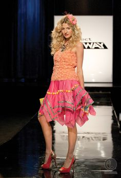 Buffi's design - #ProjectRunway Season 10 Episode 2 #Candy #Couture - #Fashion #Unconventional #Sweet