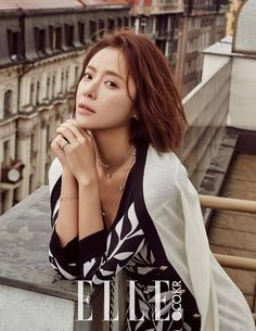 """Hwang Jung Eum Discusses Destroying Her Image for """"She Was Pretty"""" with """"Elle"""" 