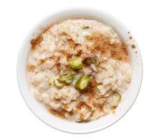Pistachio Rice Pudding http://www.rodalewellness.com/food/healthy-breakfast-recipes?slide=2