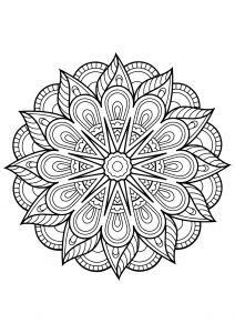 Crafts Children & Young Adults Modest Coloring Books Geometric Anti Stress Adult Relaxation Mystical Mandala 30 Pages 100% High Quality Materials