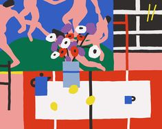 Karl-Joel Larsson: Still Life with Dance and Judd Table Cloth