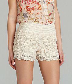 {Crochet Shorts}  *summer style