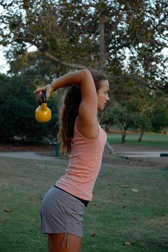 Kettlebell Workout + Top 5 Fitness Tips