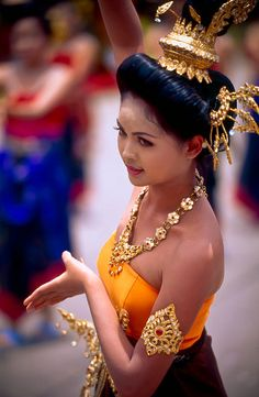 Thai Dancer...Lao/Thai New Year Mid April