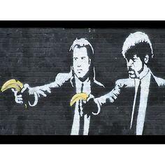 Pulp Fiction by Bansky