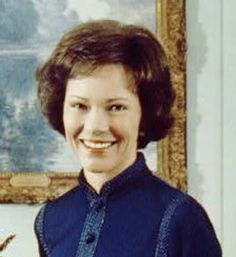 Eleanor Rosalynn Carter (née Smith) was born August 1927 in Plains, GA. She assumed office on January 1977 and served as the First Lady of the United States until January Her husband, James Earl Carter, Jr., served as the President of the United States. Presidents Wives, American Presidents, American History, First Lady Of Usa, First Lady Of America, State Parks, American First Ladies, American Women, Native American