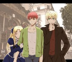 Saber X Shirou, Shirou Emiya, Miyamoto Musashi, Romance Comics, Fate Servants, Fate Anime Series, Fate Zero, Type Moon, Anime Artwork