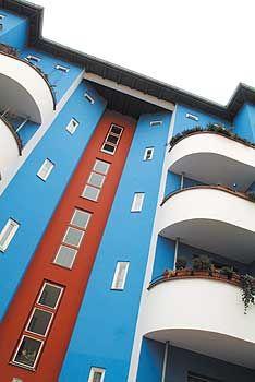 Wohnhaus im Stil des Neuen Bauens in der Bartschstraße