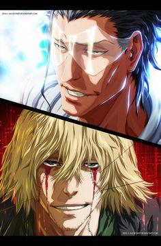 Askin Nacka le Var vs Kisuke Urahara by AlexeyArt.deviantart.com on @DeviantArt