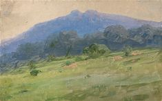 Krim Landscape - Arkhip Ivanovich Kuindzhi