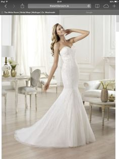 Pronvias dress-beautiful!
