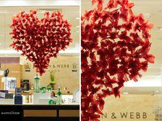Mappin & Webb, Valentines Window by Prop Studios: www.propstudios.co.uk
