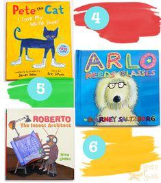 Use Children's Books for art lesson inspiration