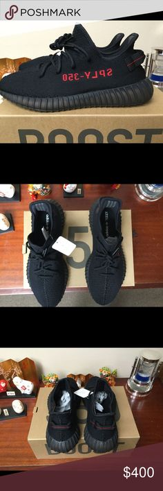 00fad37f103 Adidas Yeezy Boost 350 v2 Core Black Red Bred TEXT (470) 228-1052 TO BUY  Yeezy Shoes Sneakers
