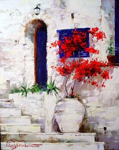"""Receive fantastic recommendations on """"abstract art paintings acrylics"""". They are actually offered for you on our web site. Watercolor Landscape, Watercolour Painting, Landscape Art, Watercolor Flowers, Acrylic Flowers, Watercolors, Nature Paintings, Beautiful Paintings, Art Paintings"""