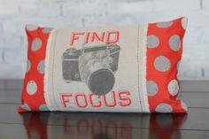 Find Focus Pillow