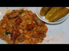 Fasole cu carnati (mancare traditionala romaneasca) - Reteta culinara ilustrata pas cu pas