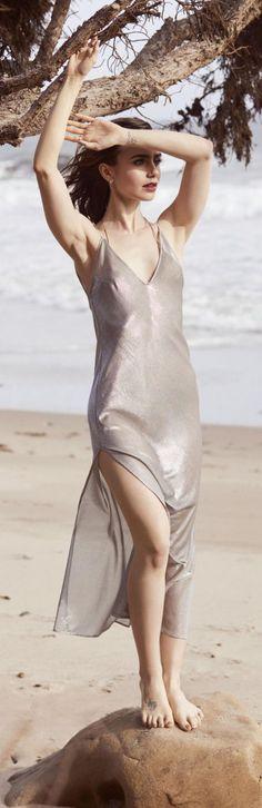 Lily Collins   2017   Shape Magazine Photoshoot