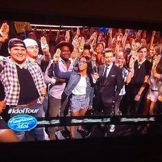 We got some THG fans on American Idol!!!!