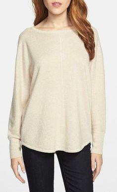 Love! Metallic Sweater.