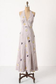 """Spring Bulbs Midi Dress  style # 24036287  Sketched with an abundance of flora, HD in Paris' floaty voile dress is cut with a plunging v-neck and modified racerback to show off shapely shoulders.   Side zip   Cotton; cotton lining   Machine wash   51""""L   Imported   $168.00"""