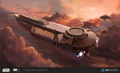 Bespin Cloud Cruiser by apeldille.deviantart.com on @DeviantArt