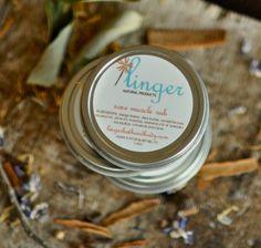 Sore Muscle Balm  vegan warming natural by lingerbathandbody, $10.00