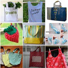 Fêtez la journée de la Terre en cousant un sac de courses! (avec 15 tutoriels)