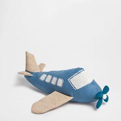 Vliegtuigknuffel - Voor het jongetje - Cadeaus | Zara Home Netherlands