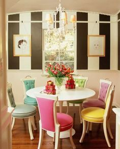 alice in wonderland themed dining room - Google Search