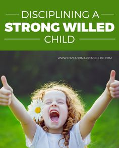 Tips For Disciplining Your Strong Willed Child - Love and Marriage Parenting a strong willed child is both a blessing and a curse at times. Here are tips to discipline them the right way. Parenting Styles, Parenting Books, Parenting Teens, Parenting Humor, Parenting Advice, Parenting Classes, Parenting Websites, Foster Parenting, Parenting Strong Willed Child