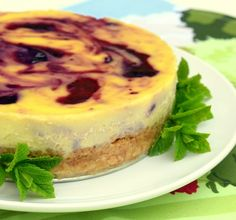 Blackcurrant and clotted cream cheesecake – Colonial Cravings