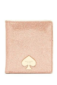 small stacy glitter wallet by kate spade on @HauteLook