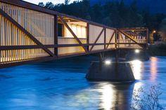 Tintra Footbridge / Rintala Eggertsson Architects