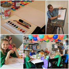 Tweens need birthday parties to!! my daughter loves to do art, PERFECT!!