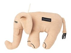 maxbone Elsie Elephant - Dog Toys : Grey : maxbone Elsie Elephant features an elephant crafted in a plush polyester with contrast stitch detailing, back loop, and inner squeaker. 100% polyester. Machine wash cold, delicate, line dry. Imported. Cute Dog Toys, Pet Toys, Cute Dogs, Modern Dog Toys, Luxury Dog Collars, Elephant Crafts, Puppy Care, Dog Design, Dog Mom
