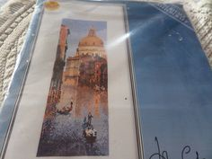 A lovely cross stitch kit by John Clayton, one of his International series A beautiful scene of Venice to be stitched on 14 count white Aida everything included to finish the project John Clayton, Cross Stitch Kits, Handmade Crafts, Landscape Design, Venice, Count, Scene, Vintage, Etsy