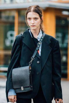 Уличный стиль: фото с Недели моды в Лондоне   Мода   STREETSTYLE   VOGUE