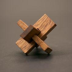 interlocking wood puzzle